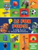Cover for P is for pups!: a PAW patrol visual dictionary.