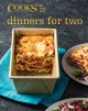 Cover for Cook's Illustrated all time best dinners for two