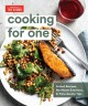 Cover for Cooking for one: scaled recipes, no-waste solutions, and time-saving tips