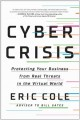 Cover for Cyber crisis: protecting your business from real threats in the virtual wor...