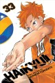 Cover for Haikyu!! Volume 33, Monsters' ball