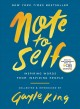Cover for Note to self: inspiring words from inspiring people