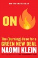 Cover for On fire: the (burning) case for a green new deal