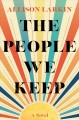 Cover for The people we keep