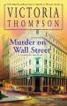 Cover for Murder on Wall Street