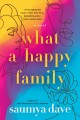 Cover for What a happy family