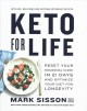 Cover for Keto for Life: Reset Your Biological Clock in 21 Days and Optimize Your Die...