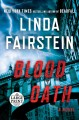Cover for Blood oath [Large Print]