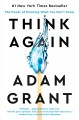 Cover for Think again: the power of knowing what you don't know