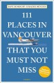 Cover for 111 Places in Vancouver That You Must Not Miss