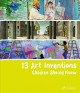 Cover for 13 art inventions children should know