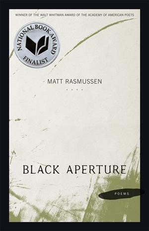 Black aperture : poems