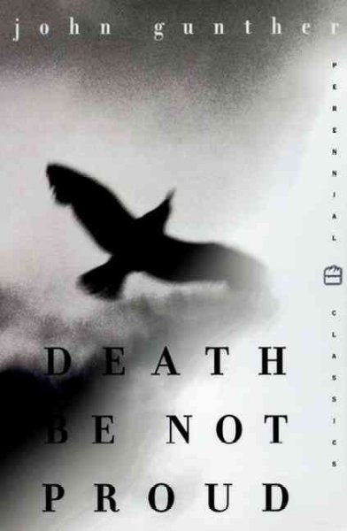 Cover of Death Be Not Proud: A Memoir