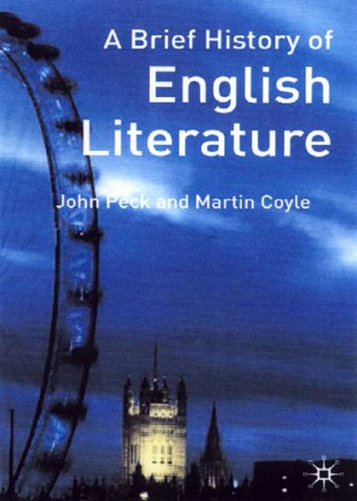 Cover of A Brief History of English Literature
