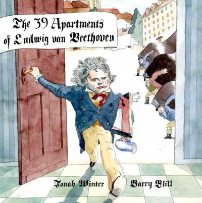 Cover of The 39 Apartments of Ludwig van Beethoven