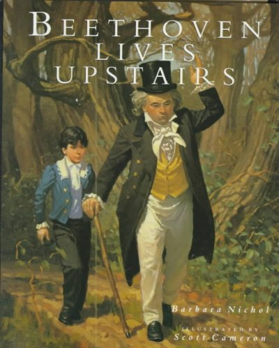 Cover of Beethoven Lives Upstairs