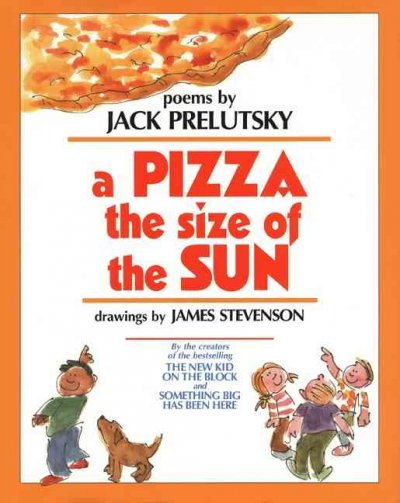 Cover of A Pizza the Size of the Sun