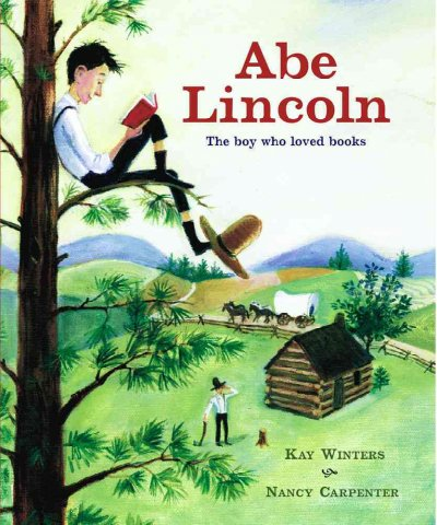 Cover of Abe Lincoln: the Boy Who Loved Books