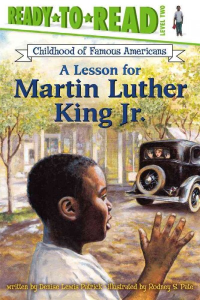 Cover of A Lesson for Martin Luther King Jr.