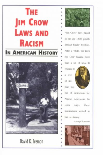 Cover of The Jim Crow Laws and American Racism