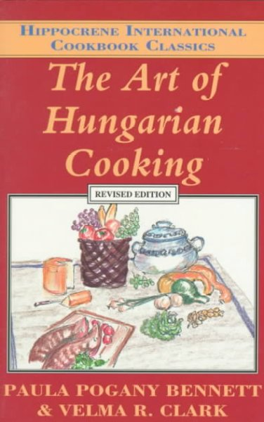 Cover of The Art of Hungarian cooking