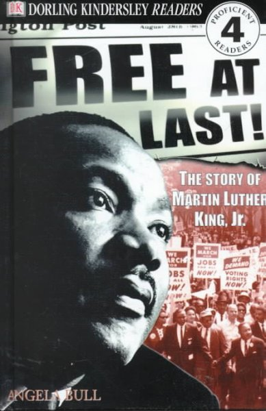 Cover of Free At Last!: The Story of Martin Luther King, Jr.