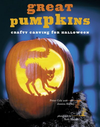 Cover of Great Pumpkins: Crafty Carvings for Halloween