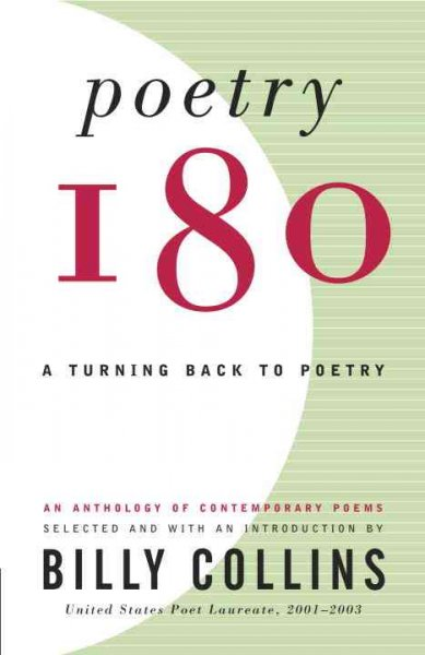 Cover of Poetry 180: A Turning Back to Poetry