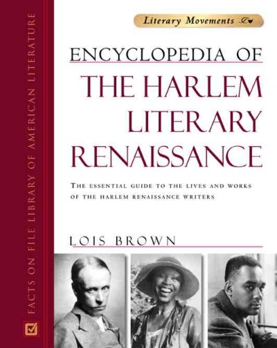 Cover of The Encyclopedia of the Harlem Literary Renaissance