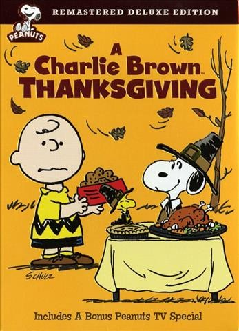 Cover of A Charlie Brown Thanksgiving