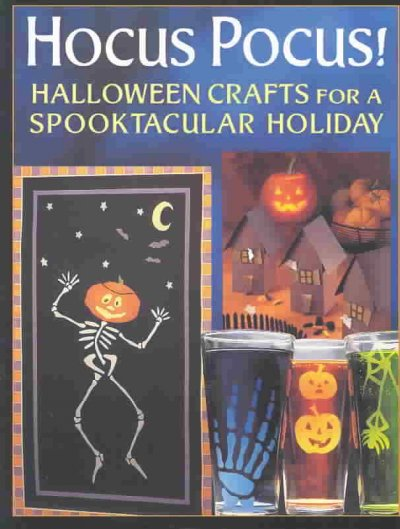 Cover of Hocus Pocus!: Halloween Crafts for a Spooktacular Holiday
