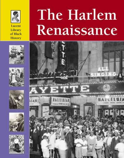 Cover of The Harlem Renaissance