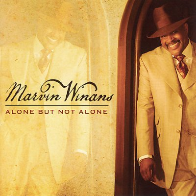 Cover of Alone But Not Alone Marvin Winans