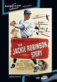 Cover of The Jackie Robinson Story
