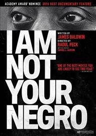 Cover of I Am Not Your Negro