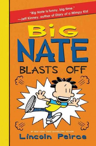 Cover of Big Nate Blasts Off