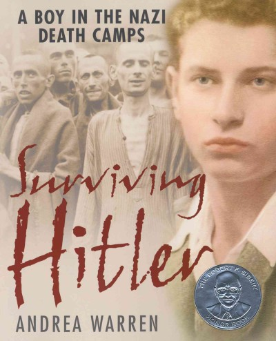 Cover of Surviving Hitler: a boy in the Nazi death camps