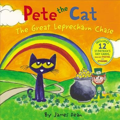 Cover of Pete the Cat and the Great Leprechaun Chase