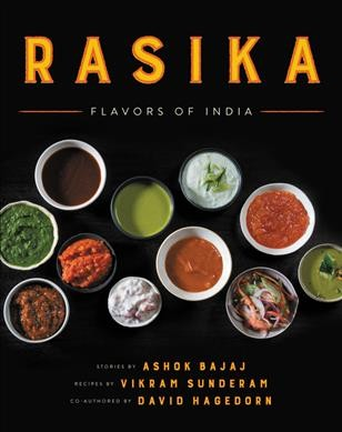 Cover of Rasika: Flavors of India