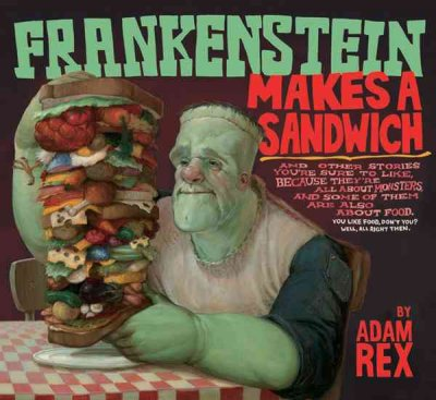Cover of Frankenstein Makes a Sandwich