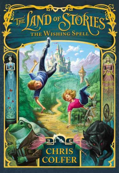 Cover of The Land of Stories, the Wishing Spell