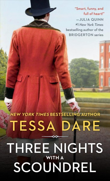Cover of Three Nights with a Scoundrel