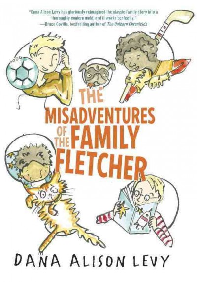 Cover of The Misadventures of the Family Fletcher