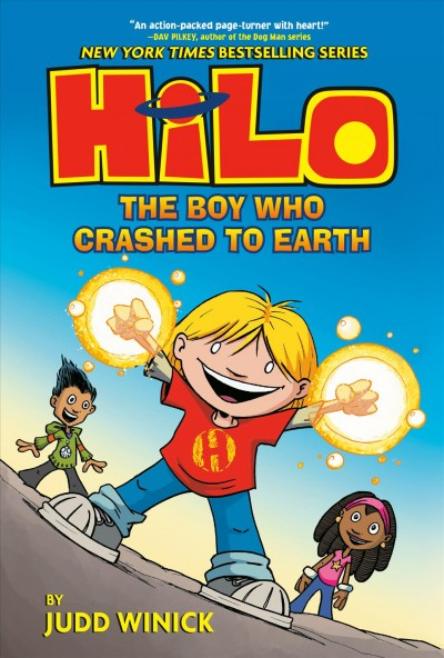 Cover of Hilo: The Boy Who Crashed to Earth