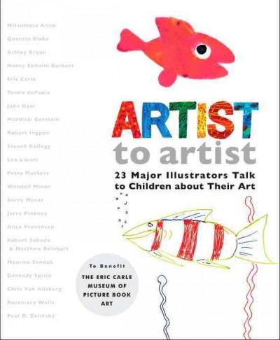 Cover of Artist to Artist