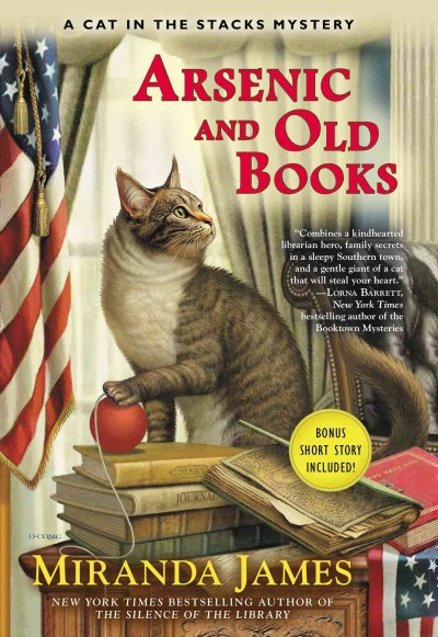 Cover of Arsenic and Old Books: A Cat in the Stacks Mystery