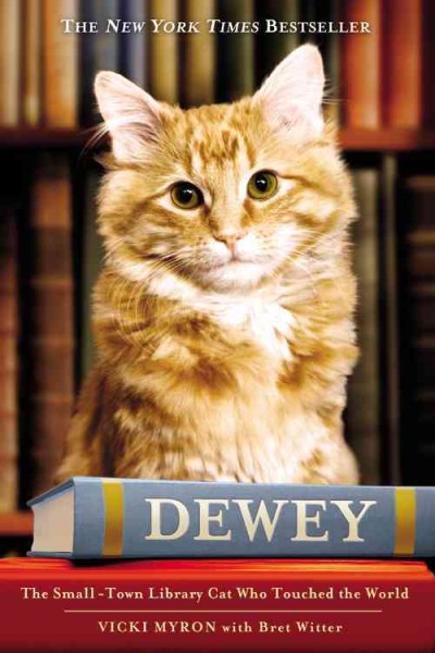 Cover of Dewey the Library Cat