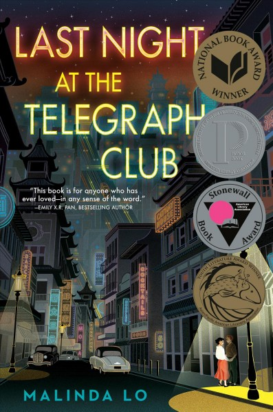 Cover of Last Night at the Telegraph Club