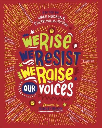 Cover of We Rise, We Resist, We Raise Our Voices