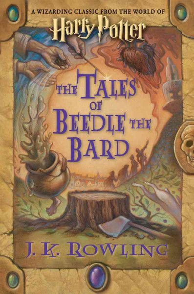 Cover of  The Tales of Beedle the Bard